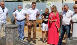 Владимир Константинов посетил Музей под открытым небом «Крепость Алустон»