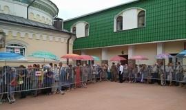 Бахчисарайский парк «Крым в миниатюре на ладони» оказал помощь в проведении праздника в честь памяти Святителя Луки.